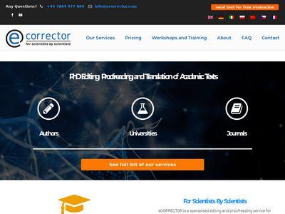 Ecorrector.com tłumaczenia
