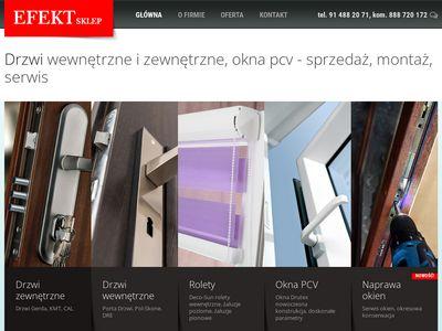 Efekt.sklep.pl drzwi dre Szczecin
