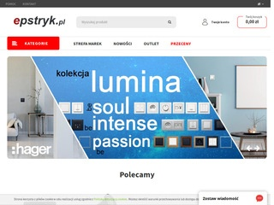 Epstryk.pl hurtownia elektryczna Kraków