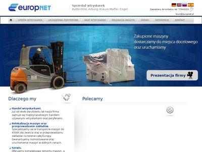 Europnet - wtryskarki używane