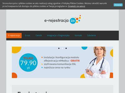 E-rejestracja24.eu - dla przychodni