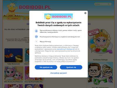 Bobibobi.pl darmowe gry dla dzieci