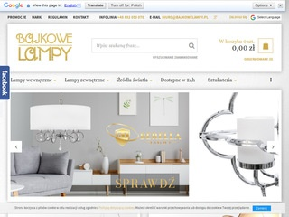 Bajkowelampy.pl - elstead lighting