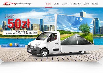 BusyReklamowe.pl - samochody reklamowe