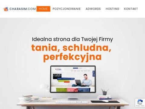 Charasim.com - pozycjonowanie Sosnowiec