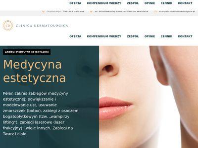 Clinica Dermatologica - botoks Gdańsk
