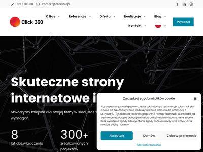 Click360.pl tworzenie stron internetowych