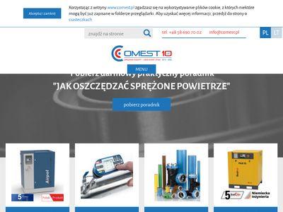 Comest.pl dmuchawy, sprężarki, sieci