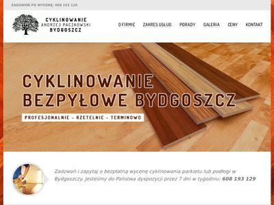Cyklinowanie Bydgoszcz Paszkowski