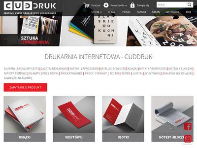 CudDruk.pl - drukarnia