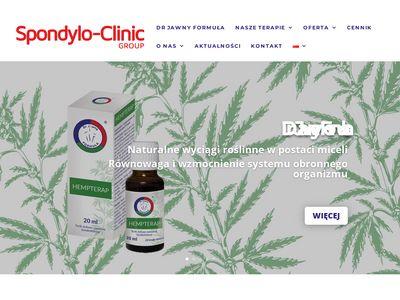 Centrum Terapii Kręgosłupa ból pleców
