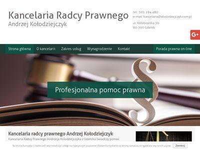 Akolodziejczyk.com.pl konsultacje prawne