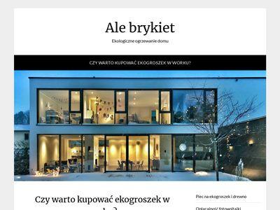 Ale-brykiet.pl pellet drzewny
