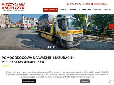 Angielczyk.com.pl pomoc drogowa