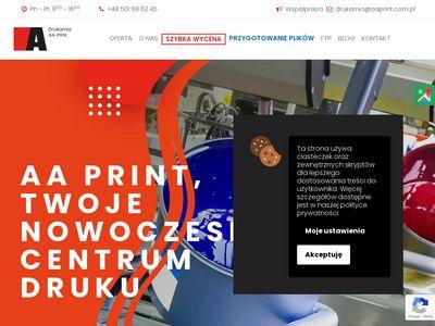 AAPrint drukarnia Katowice