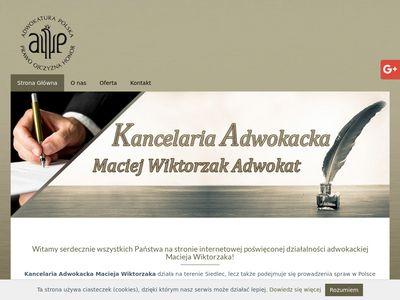 Adwokatmaciejwiktorzak.pl