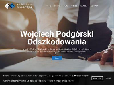 Adwokat-podgorski.pl Wrocław