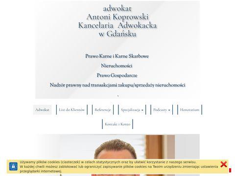 Adwokat-koprowski.pl od spraw rozwodowych