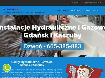 Aquainstal24.pl - hydraulik Trójmiasto