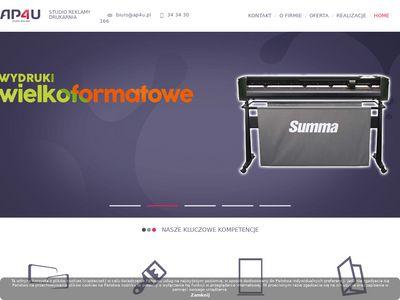 Agencja reklamowa ap4u.pl - woj. śląskie