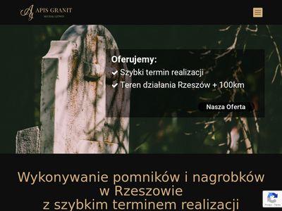 Apisgranit.pl grobowce Rzeszów