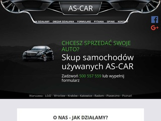 Auto-Handel As-Car skup aut Kraków
