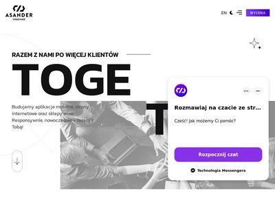 Asander.pl - tworzenie stron www