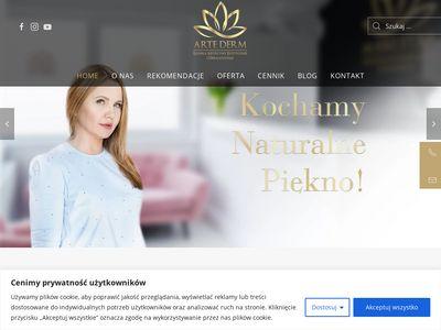 Artederm.pl - usuwanie przebarwień