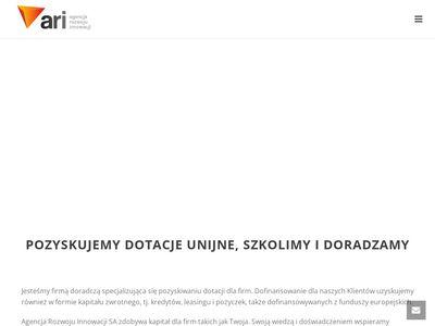 AriDotacje.pl - innowacje we Wrocławiu