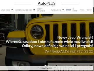 Auto Plus dealer jeep Trójmiasto