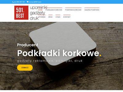 501.best - podkładki korkowe Warszawa