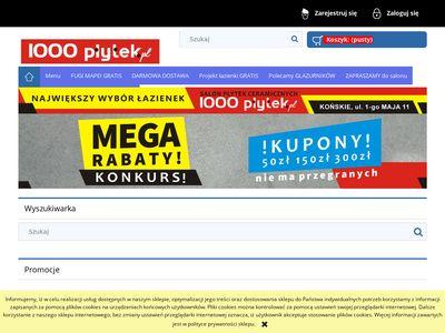 1000lazienek.pl - projekty